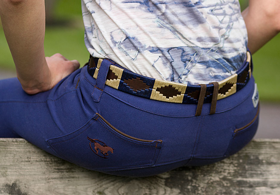 Equestrian Belts: Tato's Custom Mallets Polo Belt