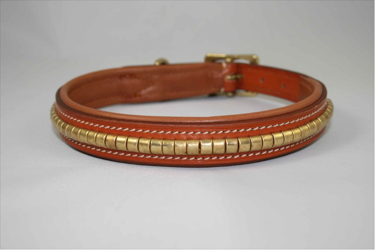Equestrian-Inspired Dog Collars: Jumper Dog Collar by Dog & Pony Show