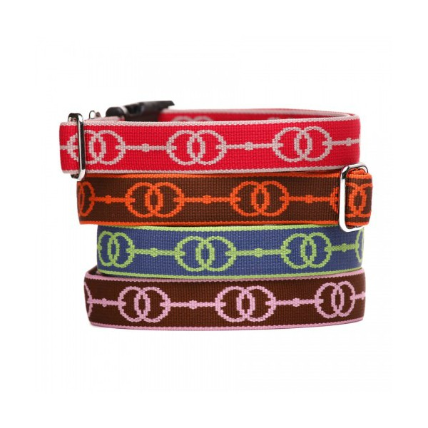 Equestrian-Inspired Dog Collars: Deauville Dog Collar by Harry Barker