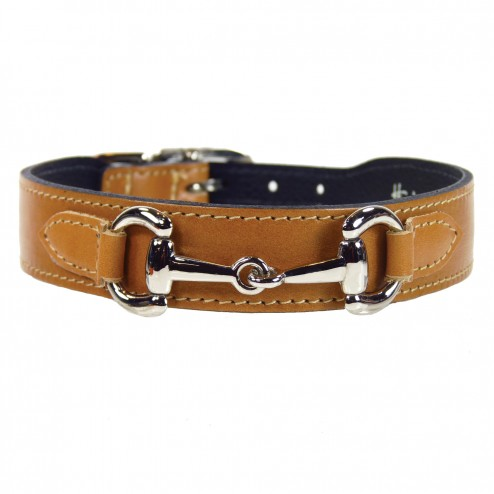 Equestrian-Inspired Dog Collars: Belmont Collar by Hartman and Rose