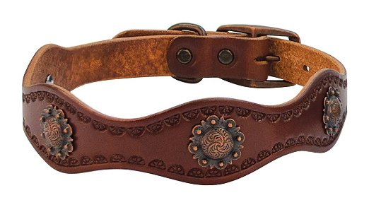 Equestrian-Inspired Dog Collars: Sundance Collar by Weaver Leather