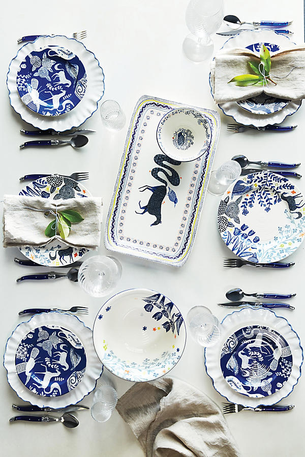 Equestrian holiday wishlist: Anthropologie Saga Dinnerware