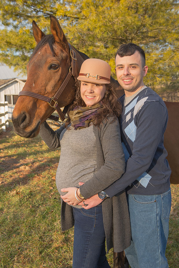 Equestrian Maternity: Mary T.