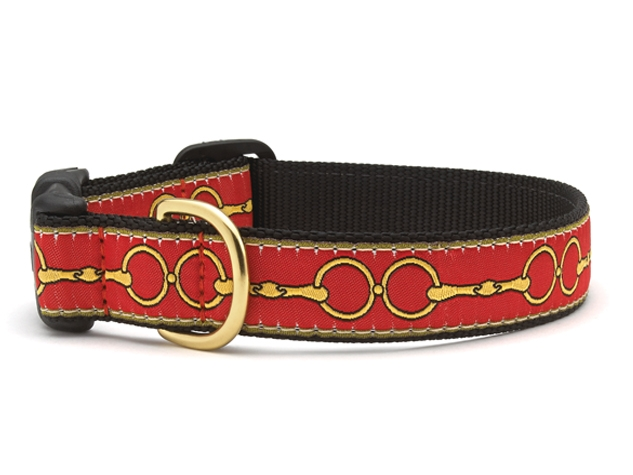 Equestrian-Inspired Dog Collars: Up Country Love You to Bits Collar