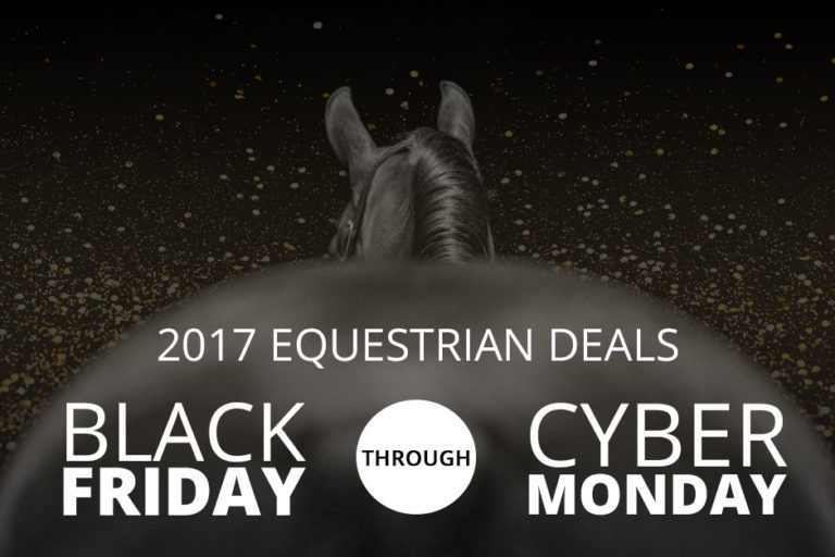 2017 Equestrian Deals: Black Friday Through Cyber Monday