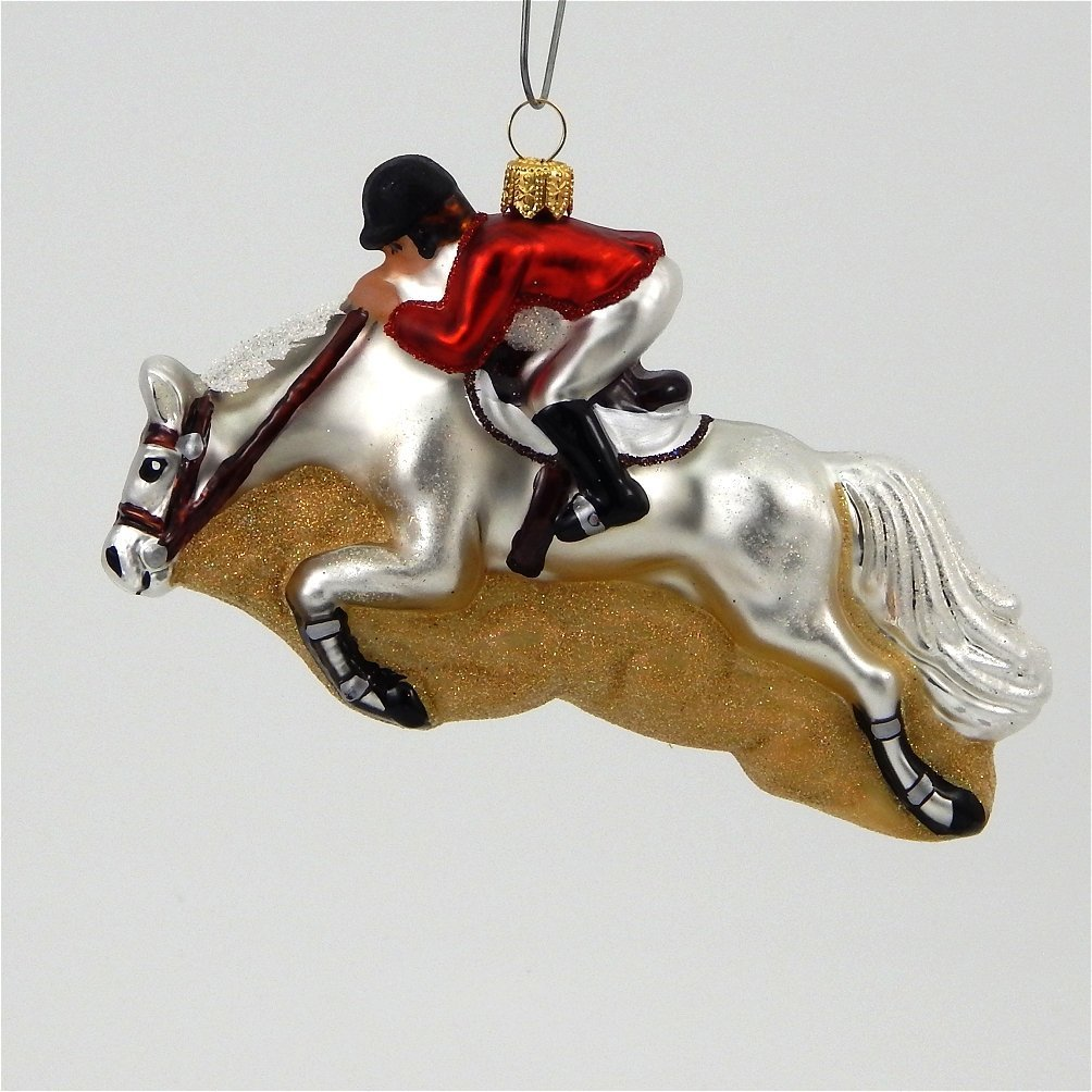 A Bit Of Britain Jumping Horse Ornament