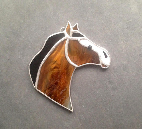 Sun-Dog-Art-And-Glass-Stained-Glass-Horse-Ornament