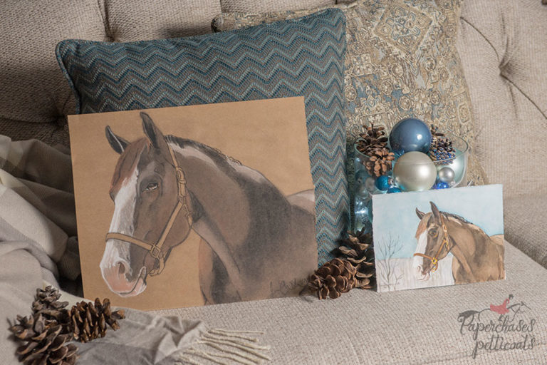 Custom horse portraits by Jessica Shasha