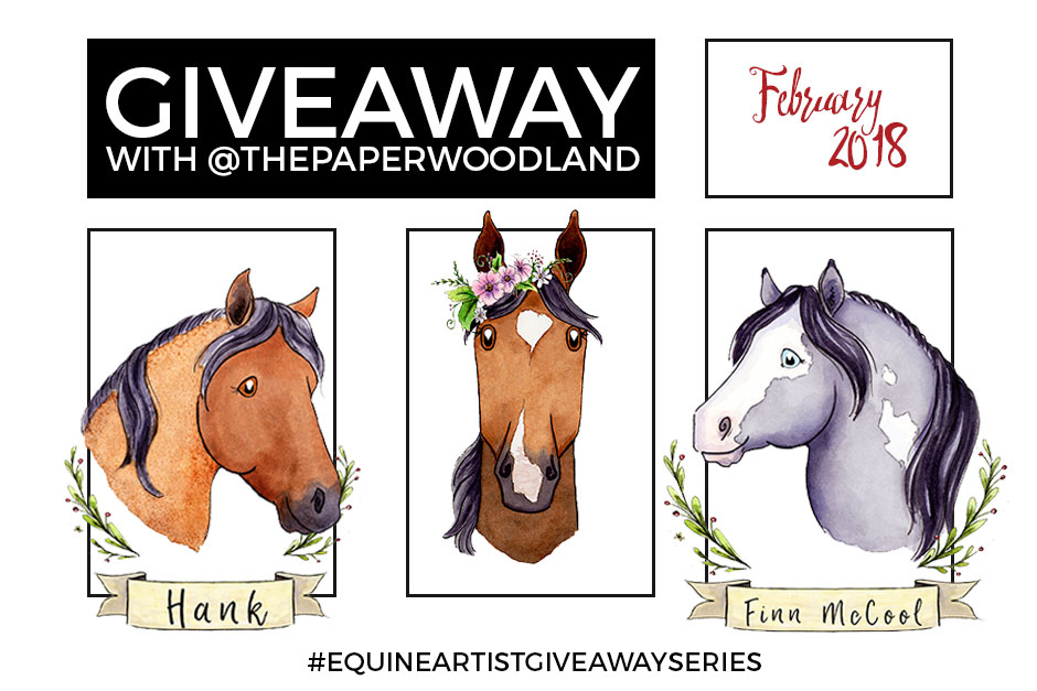Giveaway with The Paper Woodland