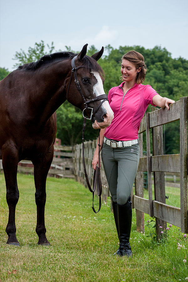 Review Aztec Diamond Equestrian Grey Amelie Breeches