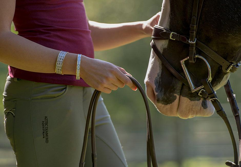 Hampton Ivy Equestrian Bracelets